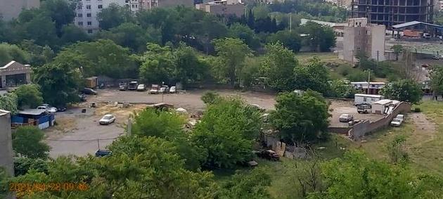 پارکینگ غیرمجاز در شمال تهران تخلیه شد