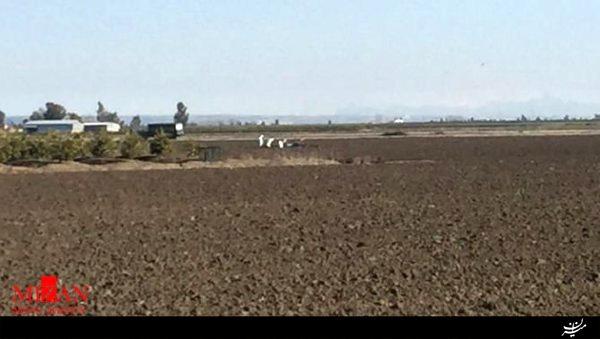 هواپیمای شناسایی آمریکا در جنوب ترکیه سقوط کرد+عکس