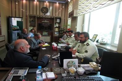 برگزاری جلسه هماهنگی خدمترسانی به زائران اربعین درراه آهن اراک