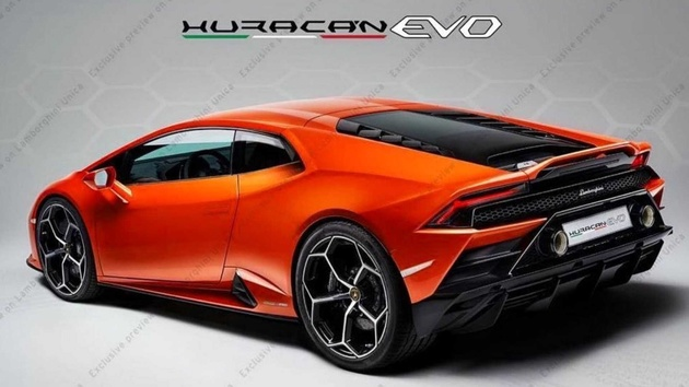 2020 Lamborghini Huracan Evo First Official Image Released