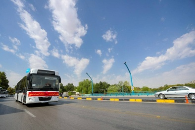 ورود 45 دستگاه اتوبوس جدید به ناوگان اتوبوسرانی شهرداری اصفهان+عکس