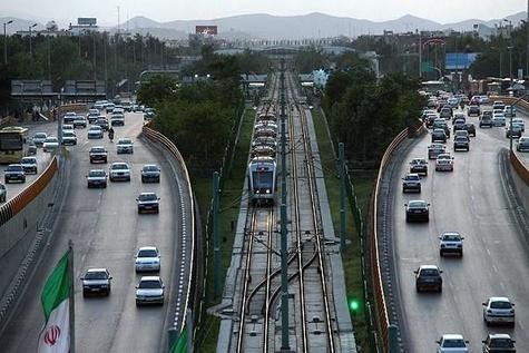 اتصال خطوط یک و دو قطارشهری مشهد تا اواخر مرداد