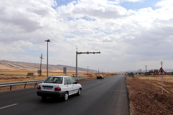 کاهش تردد ۴ درصدی تردد وسایل نقلیه در محورهای برونشهری