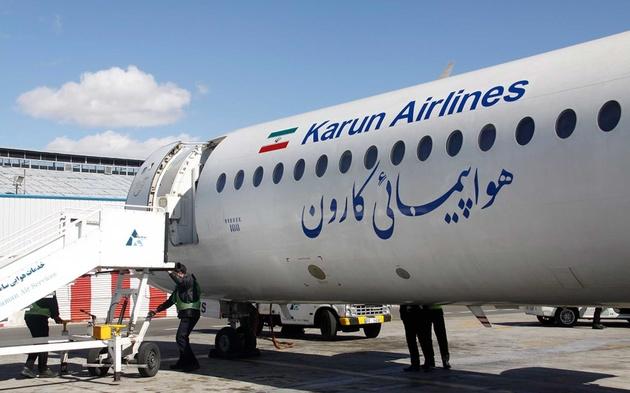 شرکتهای هواپیمایی ماهان و کارون اخطار گرفتند