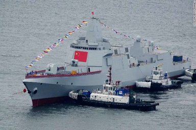 China's new destroyers: 'Power, prestige and majesty'