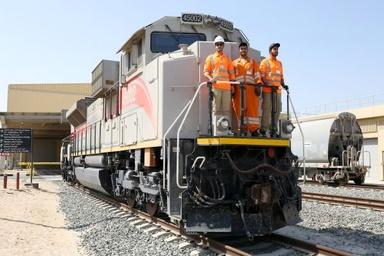 First Emirati rail graduates start work with Etihad Rail DB
