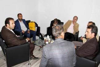 حضور مدیران و مشاور مدیر عامل شرکت بهره برداری متروی تهران در غرفه تراورس