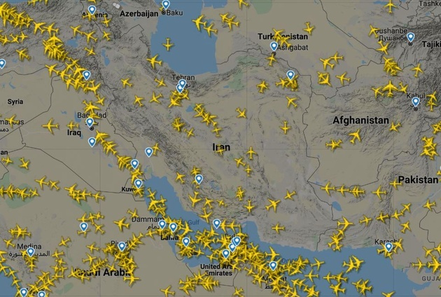 بایکوت آسمان ایران