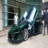In Manhattan, Michael Fux Becomes the World's First (Satisfied) McLaren Senna Customer