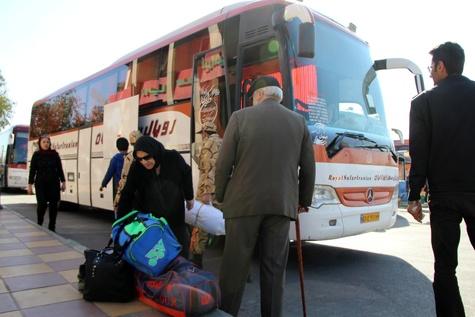 جابه جایی ۴۰۰هزار مسافر نوروزی توسط ناوگان حمل و نقل جاده ای آذربایجان شرقی