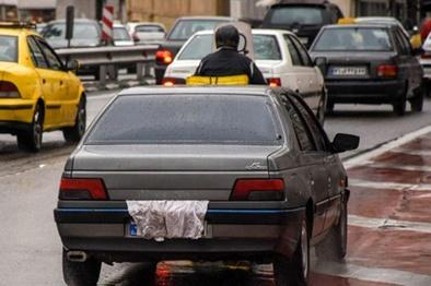 پوشش پلاک، بیشترین تخلف این شبها در پایتخت