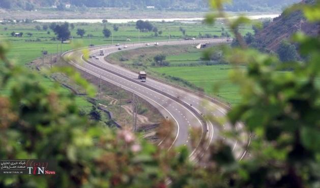 خط کشی بیش از ۹۵۰ کیلومتر از راه های استان گیلان