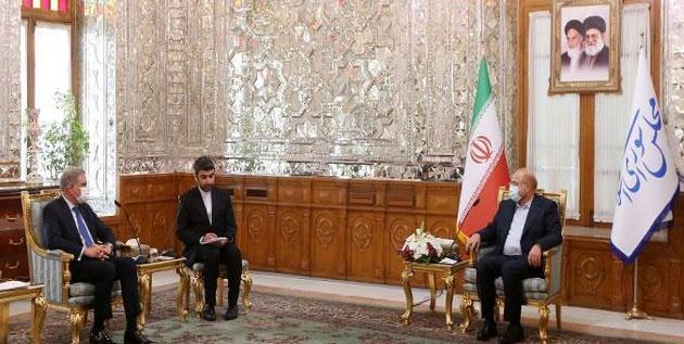 تاکید رئیس مجلس بر گشایش بازارچه های مرزی ایران و پاکستان