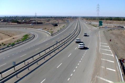 بهرهبرداری از ۱۸ کیلومتر بزرگراه شیراز – جهرم در آیندهای نزدیک