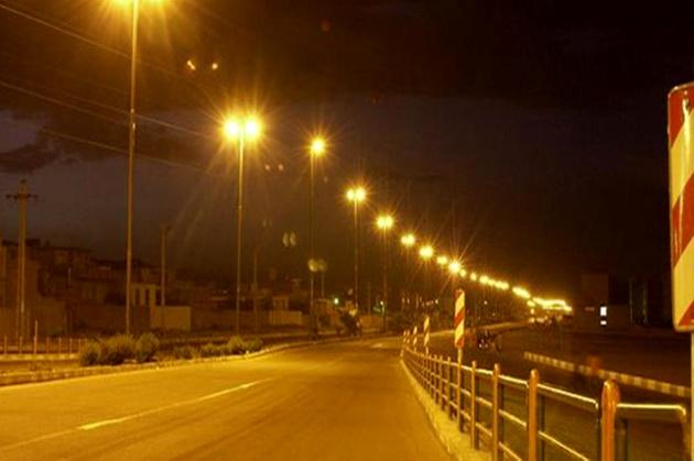 18 هزار متر روشنایی در جاده های اردبیل اجرا می شود