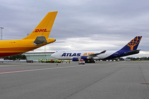 DHL launches twice a week B747 freighter from Oslo to Seoul and Shanghai