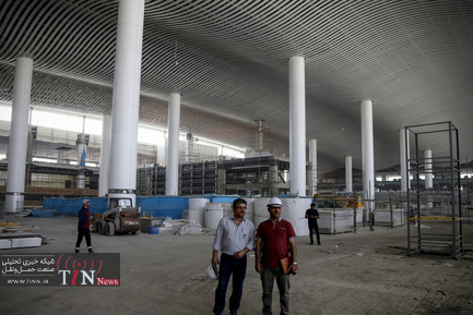 چند نما از ساخت و تکمیل ترمینال سلام فرودگاه امام خمینی(ره)