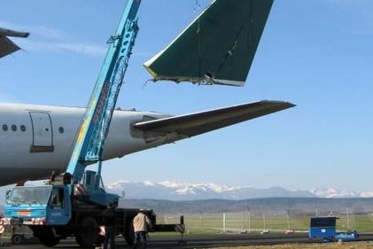 هواپیمای فرسوده، چگونه اوراق میشود؟