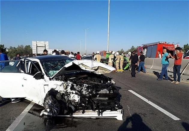 حوادث ترافیک قم در نوروز 97 کاهش داشت