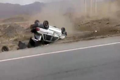 چهار کشته بر اثر واژگونی پراید در جاده سرپلذهاب