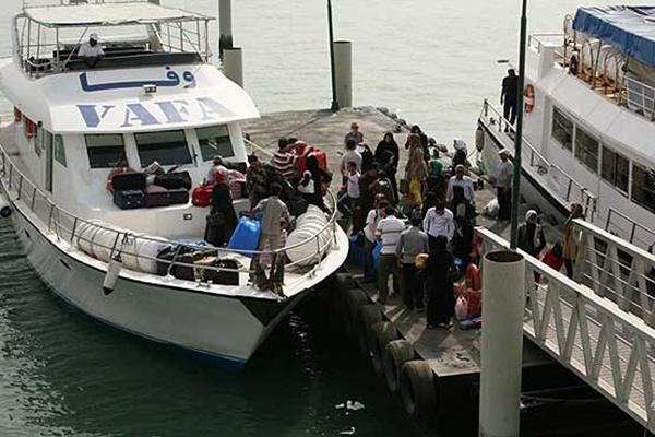 ارائه خدمات رایگان به مسافران دریایی
