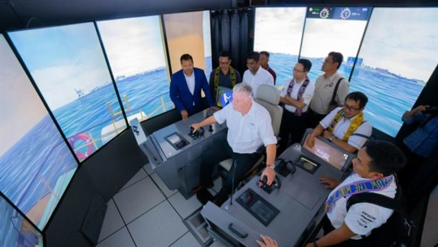 New LNG bunkering vessel simulator to allow hands-on training