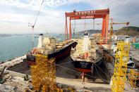 زمان تحویل اولین کشتی هیوندایی به کشتیرانی