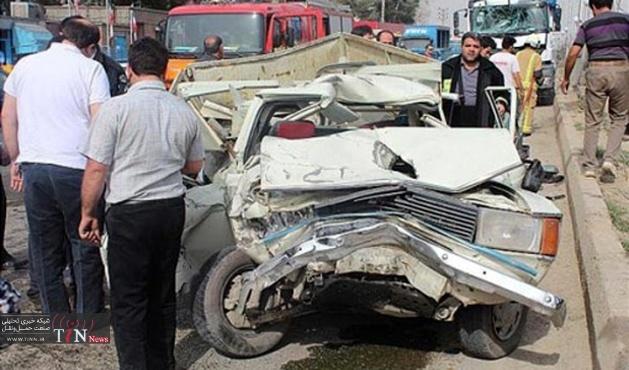 تصادف در در محور ایلام - مهران ۴ کشته و زخمی برجای گذاشت