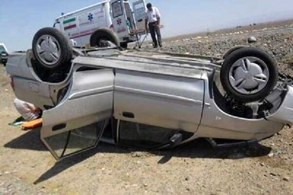 دو کشته و هفت مصدوم در تصادف چهارمحال و بختیاری