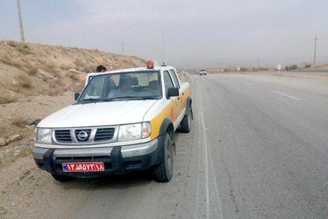 ۱۴۴۰ نفر ساعت گشت راهداری در راههای شهرستان ملایر