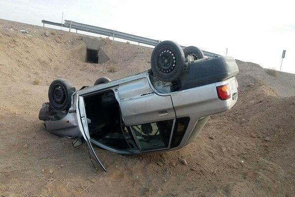تصادف در زنجان ۲ کشته و ۲ مصدوم برجا گذاشت