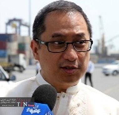 سفیر فیلیپین خواستار توسعه ترانزیت از بندر شهید رجایی شد