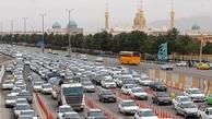 ترافیک سنگین در خروجی تهران