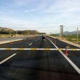 بهرهبرداری از سه کیلومتر ابتدایی محور چهار خطه نورآباد-قائمیه+عکس