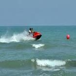 غرق شدن راننده جت اسکی در دریای مازندران