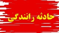حادثه رانندگی در محور اردبیل- مشگین شهر ۱۱ مصدوم برجای گذاشت