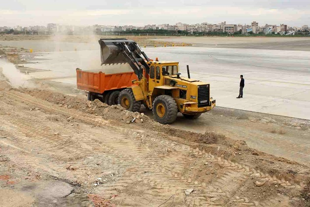 موانع حریم پروازی فرودگاه مهرآباد