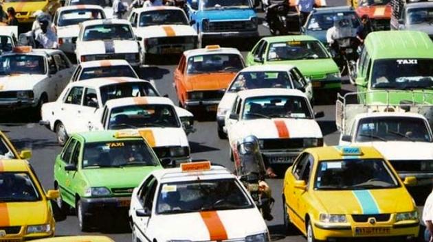 10هزار تاکسی فرسوده در تهران