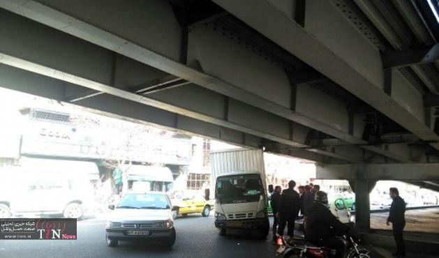 پلهای فلزی تهران بتنی میشوند