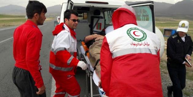 فعالیت 44 هزار امدادگر در حوادث مختلف
