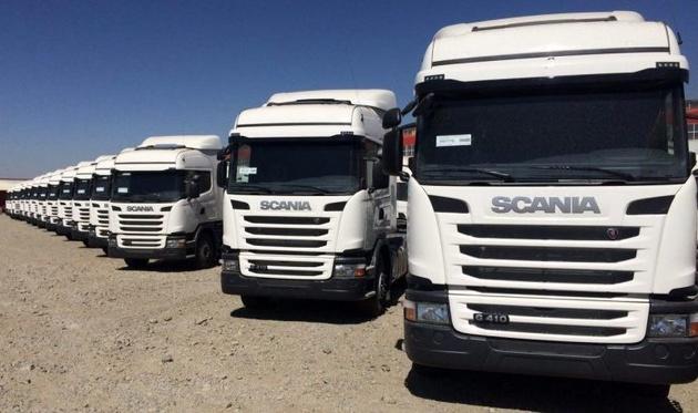 اثرات خروج اسکانیا، ولوو و بنز از ایران؛ تولید چهار کامیون متوقف شد