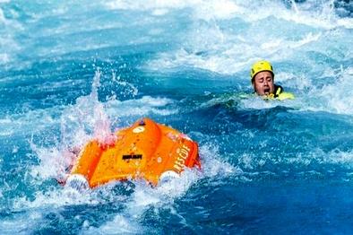 ابداع قایق نجاتی که از راه دور هدایت میشود+تصاویر