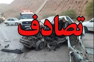 واژگونی کامیون در یزد یک کشته و ۴ مصدوم بر جای گذاشت