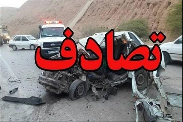 تصادف زنجیرهای در آزادراه زنجان - قزوین ۲ کشته برجا گذاشت