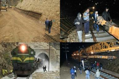ادامه عملیات بازسازی بلاک قارون-بیشه به طول ۱۴۰۰ متر