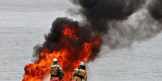 Four dead after tanker fire in Persian Gulf