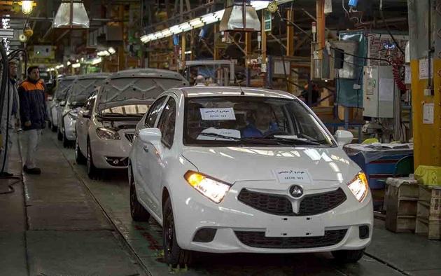 تولید 6 تا 40 درصد قطعات خودروهای چینی مونتاژ داخل در ایران