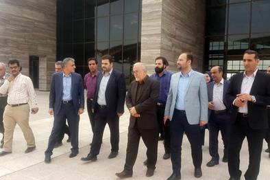 بازدید تقیزاده از پایانههای مرزی پرویزخان و خسروی