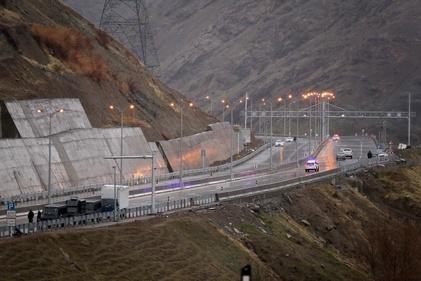 افتتاح آزادراه تهران-شمال با حضور روحانی