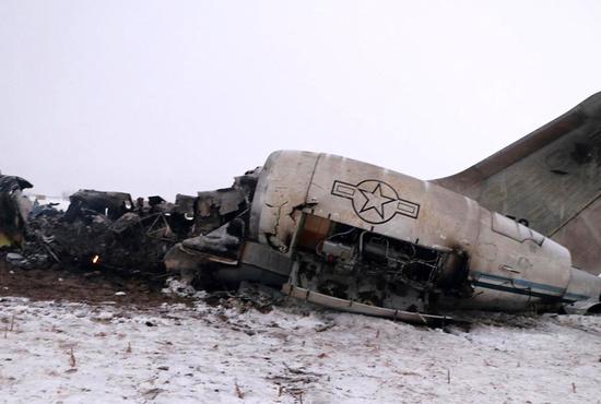 سقوط هواپیمای  آمریکایی در افغانستان